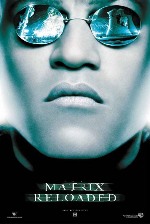 勞倫斯費許朋演出電影《駭客任務》。