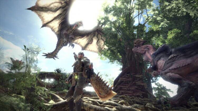 《魔物獵人》遊戲系列。