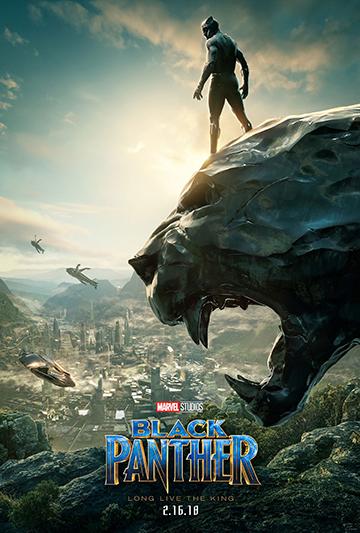 《 黑豹 》 電影海報 。
