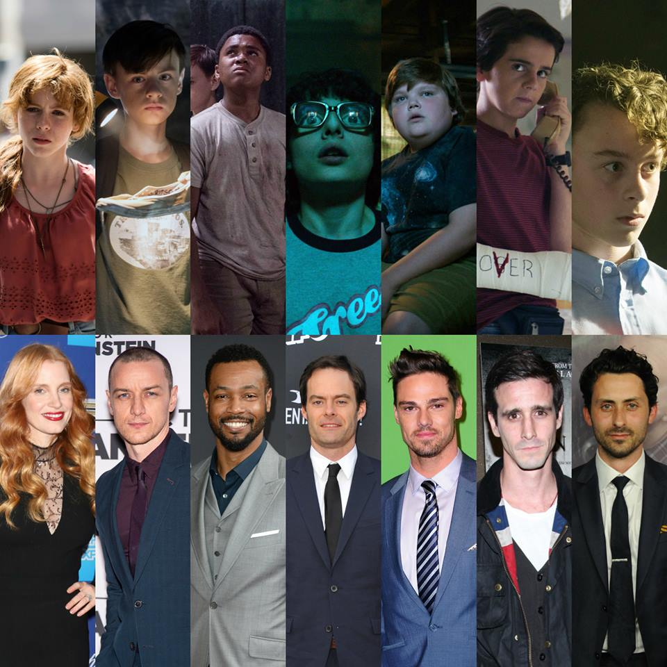 《 牠:第二章 》開拍!成年版及少年版演員對照。