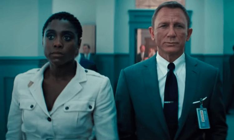 《007:生死交戰》拉沙納林奇與丹尼爾克雷格。