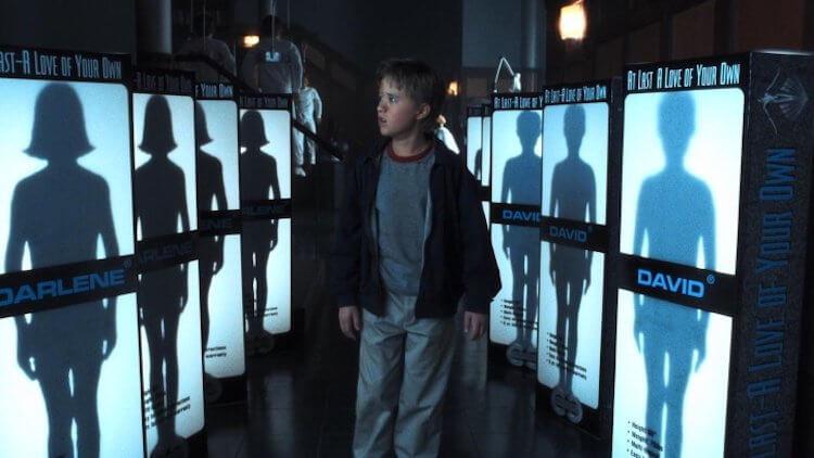 《A.I.人工智慧》劇照。