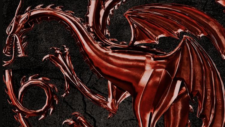 HBO 宣布預定影集《冰與火之歌:權力遊戲》 前傳影集《HOUSE OF THE DRAGON》首圖