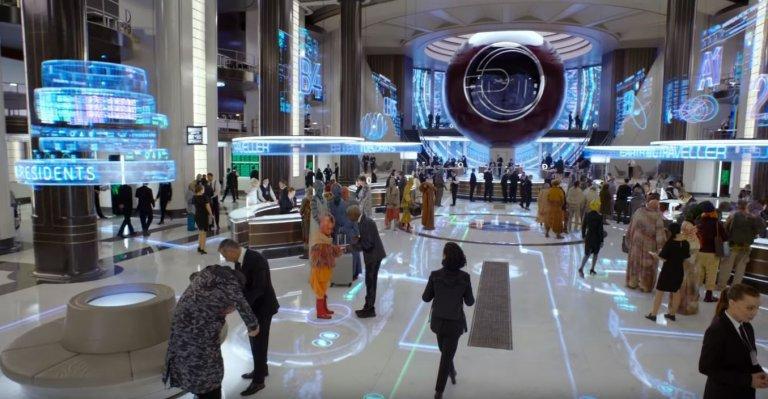 改由「雷神」克里斯漢斯沃與「女武神」泰莎湯普遜主演的《MIB 星際戰警:跨國行動》,首支預告便有許多致敬前作的彩蛋。