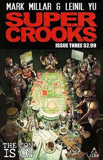 以《朱比特傳奇》反派為主角發展的漫畫《Supercrooks》將推真人影集。