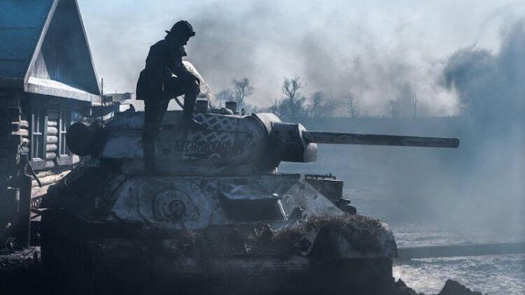 《T-34:玩命坦克》劇照。