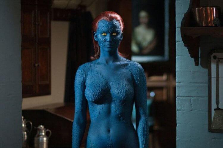 《X戰警》珍妮佛勞倫斯。