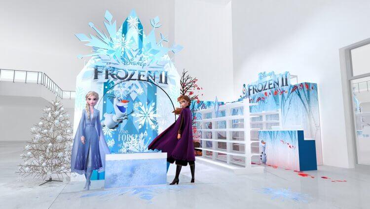 迪士尼動畫電影首次推出續作,《冰雪奇緣 2》上映前先推出期間限定店,各種相關周邊陸續推出。