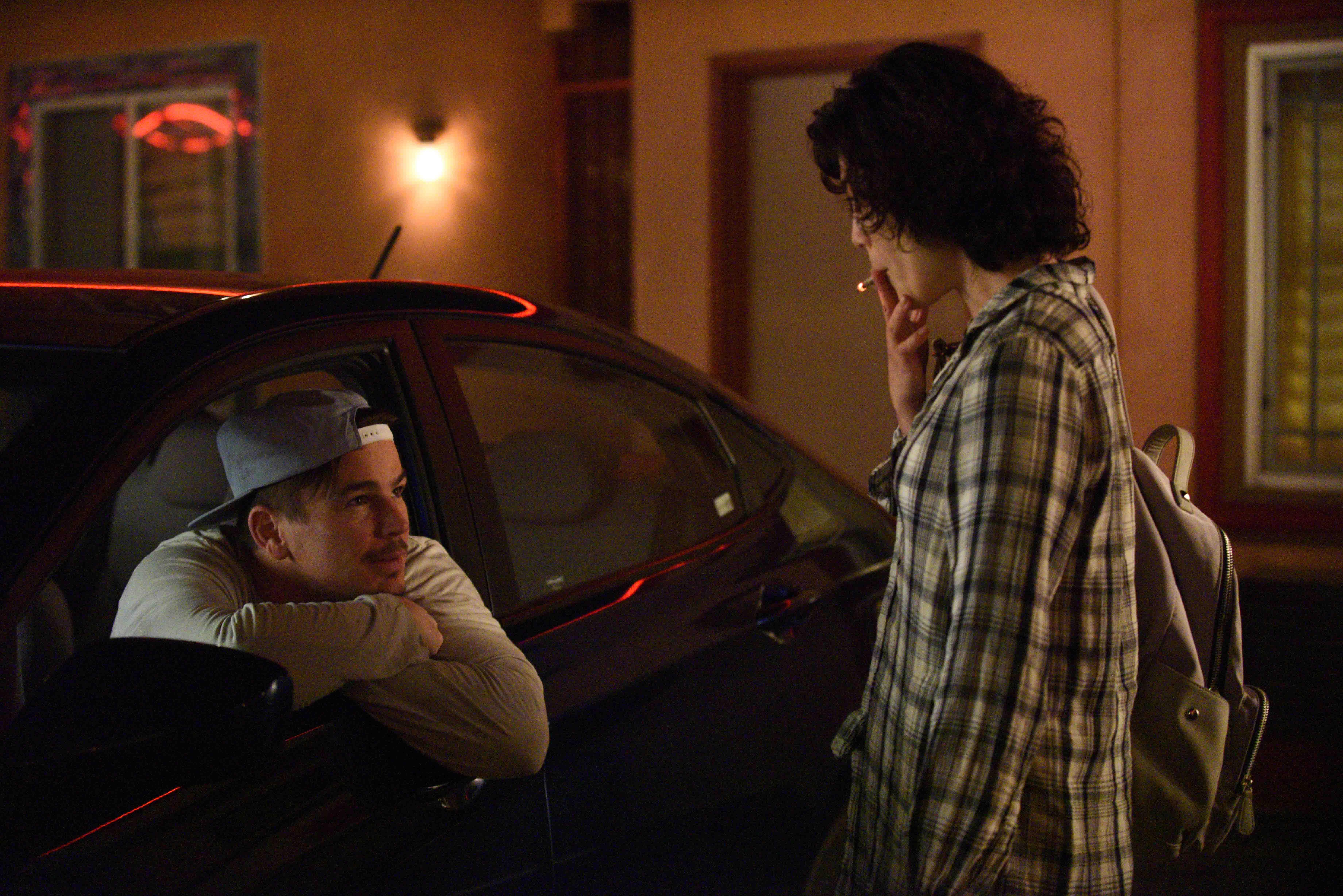 喬許哈奈特 與 寺島忍 於電影《喔!露西》中有激情的情慾戲。