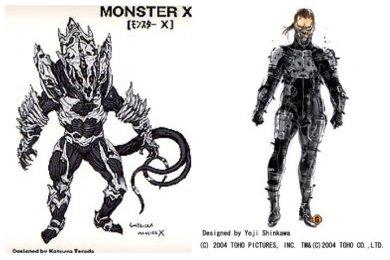 2004 年哥吉拉誕生五十周年,東寶特攝電影《哥吉拉 最後戰役》請來寺田克也、新川洋司等美術人才設計新世代角色。