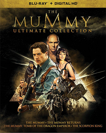 近年來最著名的 木乃伊 系列電影 :《 神鬼傳奇 》。