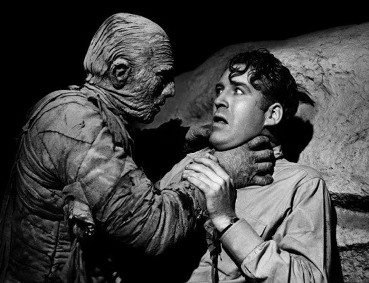 尋寶電影 的起源:經典怪物系列 「 木乃伊 」電影。
