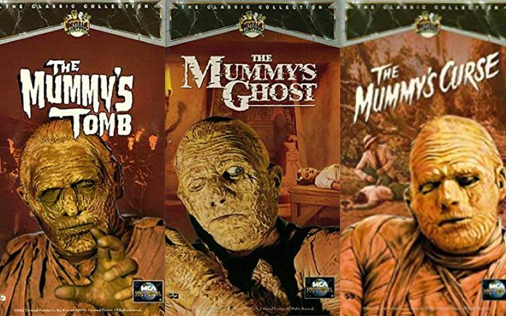 《 木乃伊之手 》的續集們: 埃及怪物系列,卡利斯四部曲。