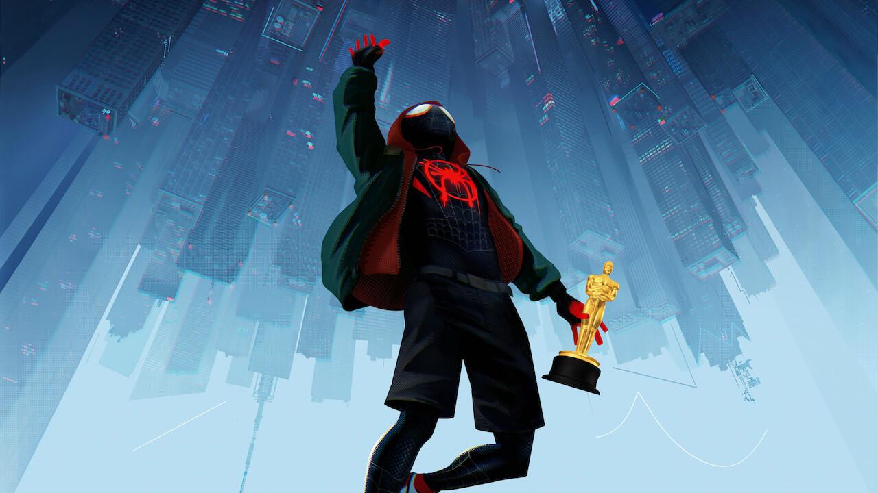 【影音】奧斯卡最佳動畫得獎者《蜘蛛人:新宇宙》改變了漫改電影首圖