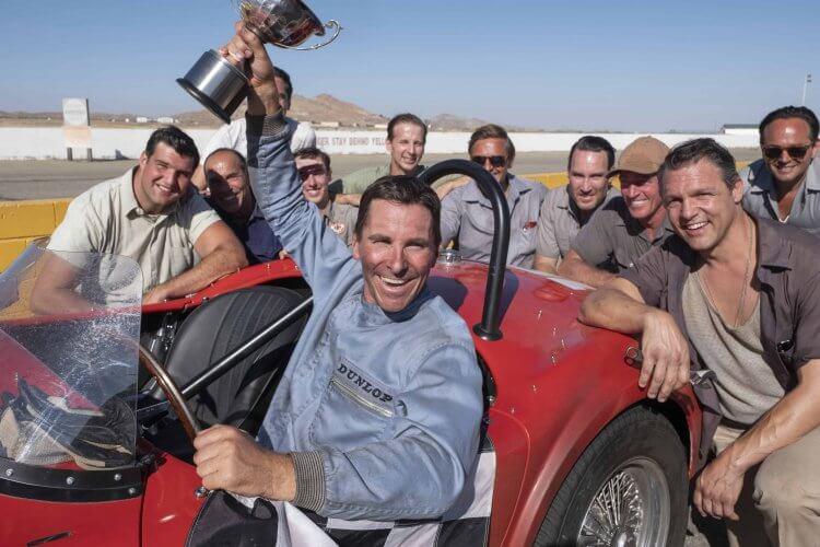 麥特戴蒙、克里斯汀貝爾雙主角共演的電影《賽道狂人》已先拿下好萊塢電影獎三大獎座,有望進軍奧斯卡摘金。