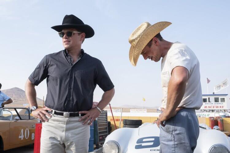 麥特戴蒙與克里斯汀貝爾在《賽道狂人》中分別飾演卡洛謝爾比以及肯邁爾斯。