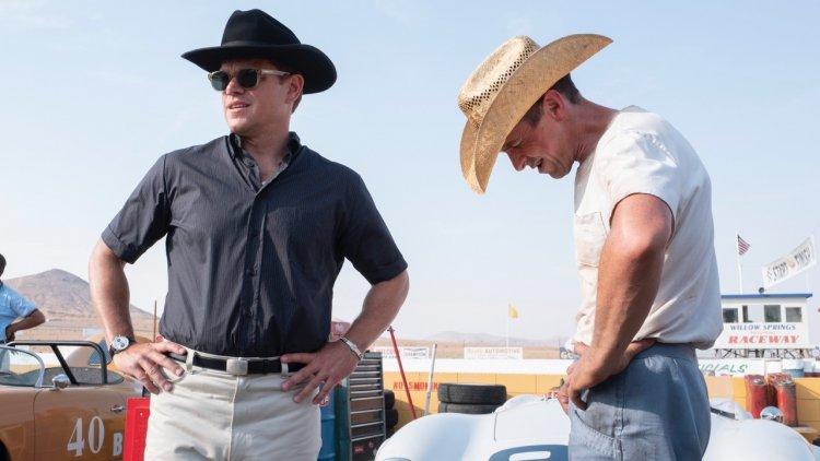 麥特戴蒙、克里斯汀貝爾雙難神雙主演的電影《賽道狂人》(Ford v. Ferrari) 劇照。