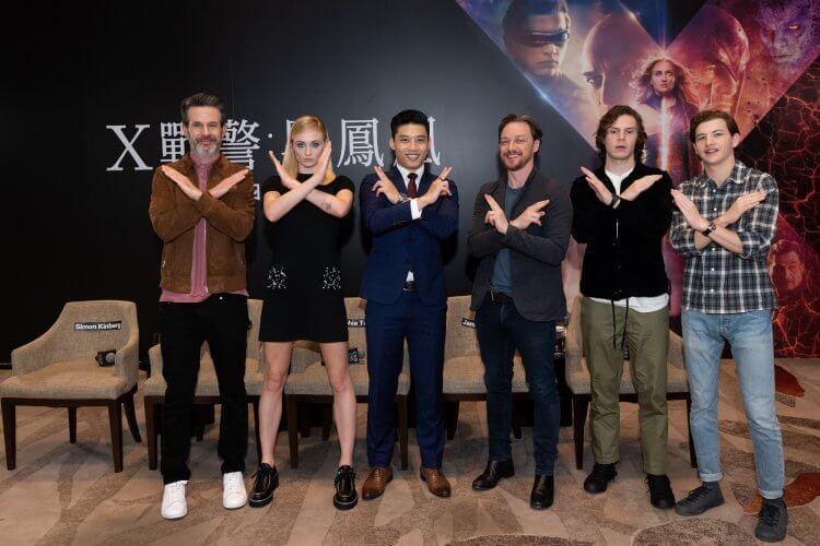我是變種人我驕傲!《X戰警:黑鳳凰》跨海連線記者會 —「X教授」詹姆斯麥艾維本人傾向萬磁王理念首圖