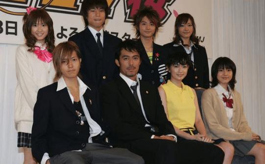 日劇《東大特訓班》當年集結超級豪華陣容。