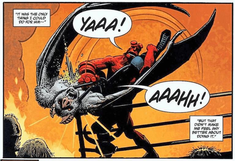 地獄怪客:血后的崛起》選擇兒童不宜尺度的目的昭然若揭:它想要擠進那塊現在還只有《死侍》獨佔的 R 級暴力血腥歡樂超級英雄電影市場。