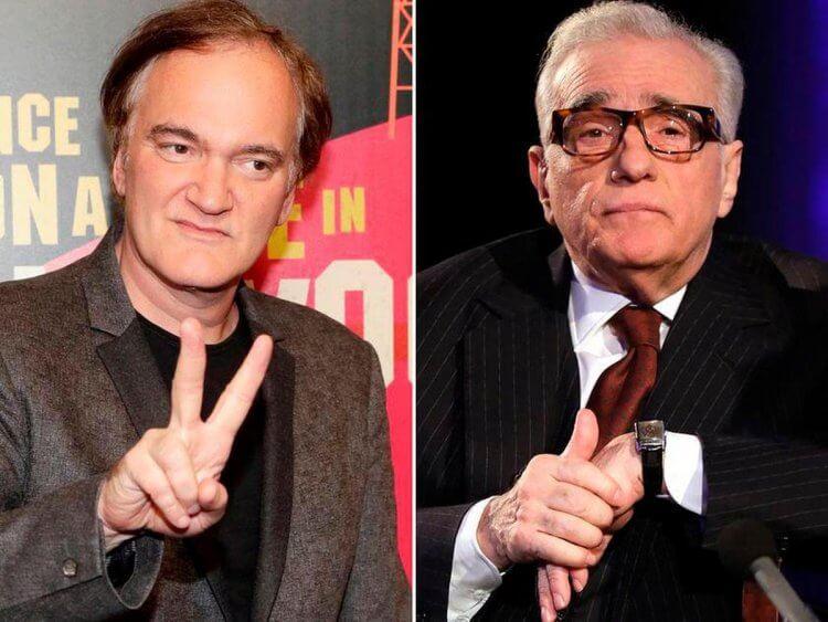 國際知名導演:昆汀塔倫提諾,以及馬丁史柯西斯。