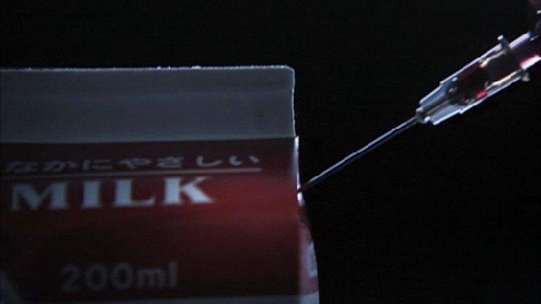 中島哲也導演作品,松隆子主演的電影《告白》劇照。
