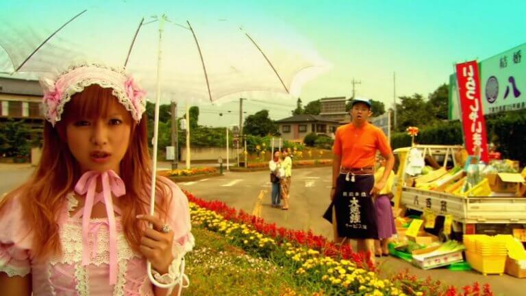 深田恭子主演的電影《下妻物語》劇照。