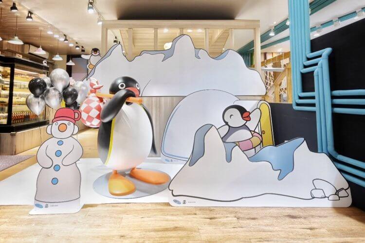 「PINGU 企鵝家族」親子餐廳大樹先生的家聯名登場。