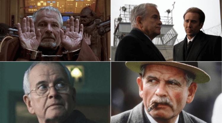 伊恩霍姆演過數十部電影