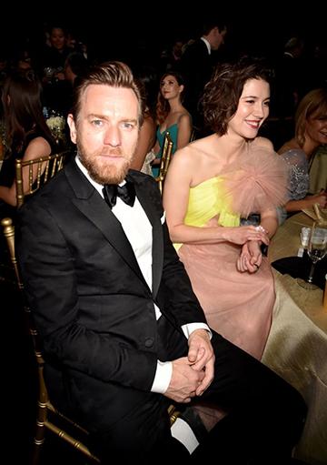 年初 金球獎 典禮上, 伊旺麥奎格 就坐在 文斯蒂德 旁邊。