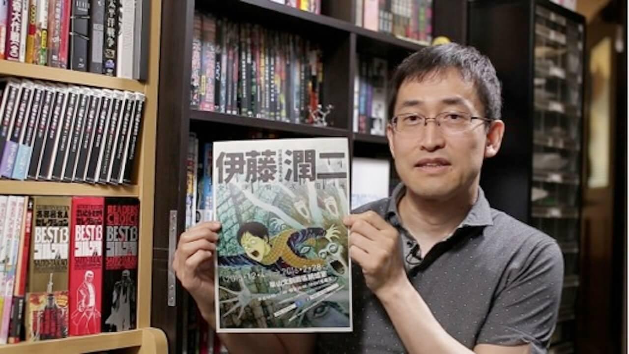 日本一代恐怖大師 漫畫家 : 伊藤潤二 。