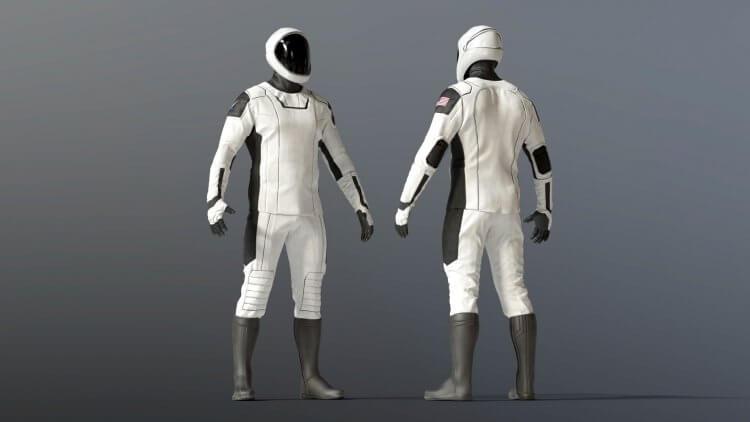 何塞費南德茲 (Jose Fernandez) 為 Space X 太空人設計太空裝。