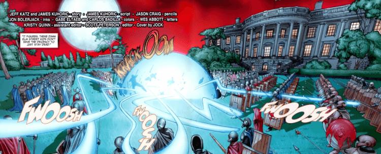 傑夫卡茲趁著擔任映像漫畫編劇的機會,將讓《十三號星期五》與《鬼玩人》等世界合而為一,實現經典角色們合體大亂鬥的不可能任務。