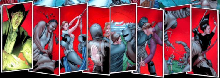 漫畫《佛萊迪 vs. 傑森 vs. 艾許:惡夢戰士》出現許多恐怖片迷能心領神會的人物及橋段,並讓數個合體於此的故事能統整收尾。