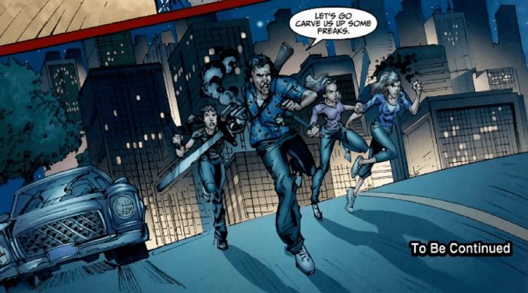 傑夫卡茲編劇的漫畫《佛萊迪 vs. 傑森 vs. 艾許:惡夢戰士》中,《鬼玩人》系列的艾許角色可惜未有深入的貼切描寫。
