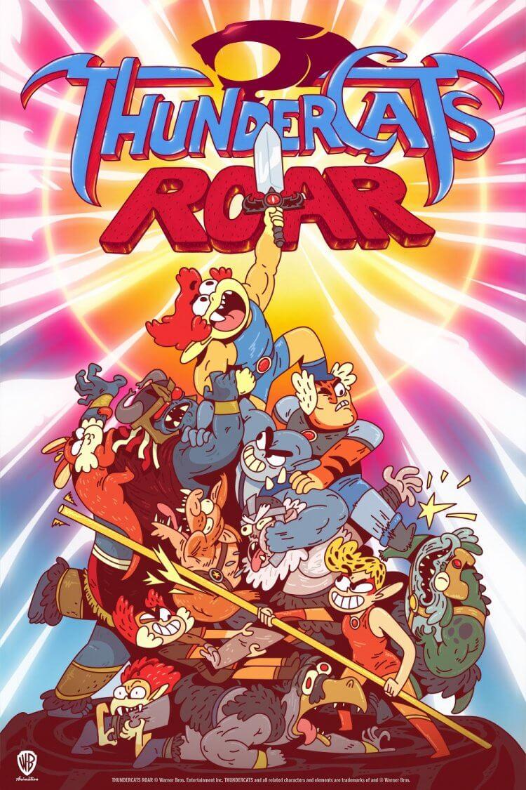 經典動畫影集《霹靂貓》推出逗趣的全新系列《霹靂貓 轟》在卡通頻道播出。