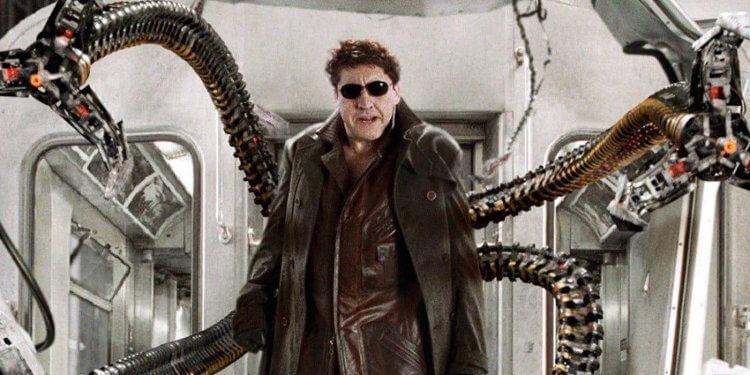 《蜘蛛人 2》艾佛烈蒙利納飾演八爪博士。