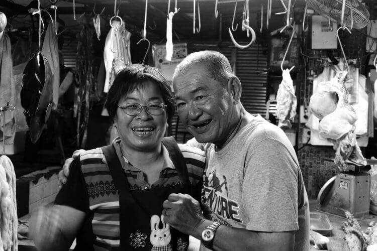 公視紀實影集《我又在市場待了一整天》蘇百慶夫妻。