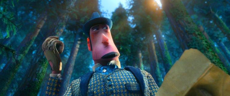 休傑克曼在動畫電影《大冒險家》中美聲配音冒險家萊諾,將與神祕大腳怪一同踏上超ㄎㄧㄤ旅程。
