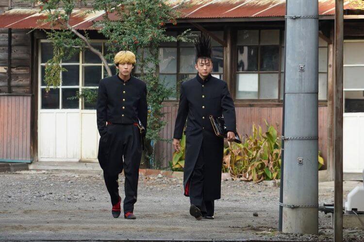 《我是大哥大 !! 劇場版》賀來賢人及伊藤健太郞。