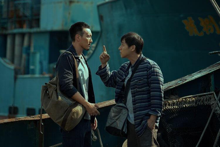改編討海人口耳相傳禁忌的台片《海霧》王陽明與鄭人碩。