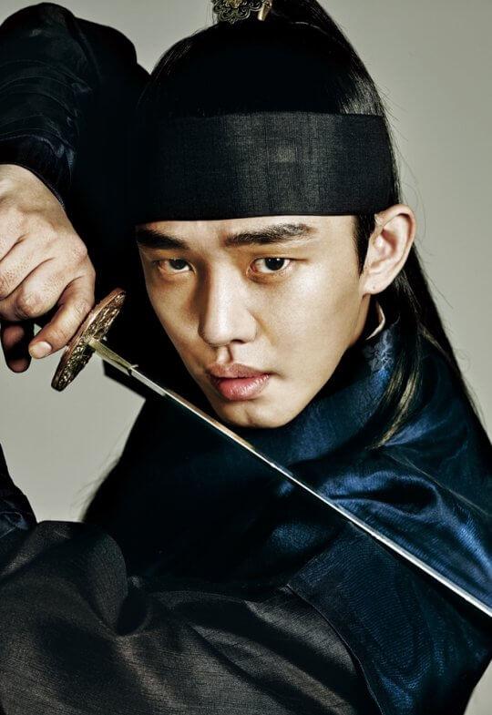 劉亞仁在《六龍飛天》中飾演朝鮮王國第三代太宗