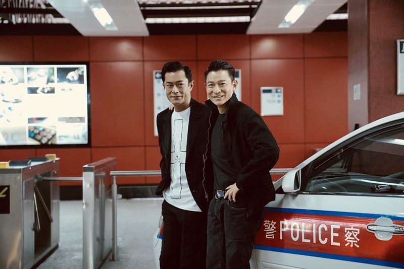 劉德華 與 古天樂 在《 掃毒2 》中演出反派角色,更是好兄弟。