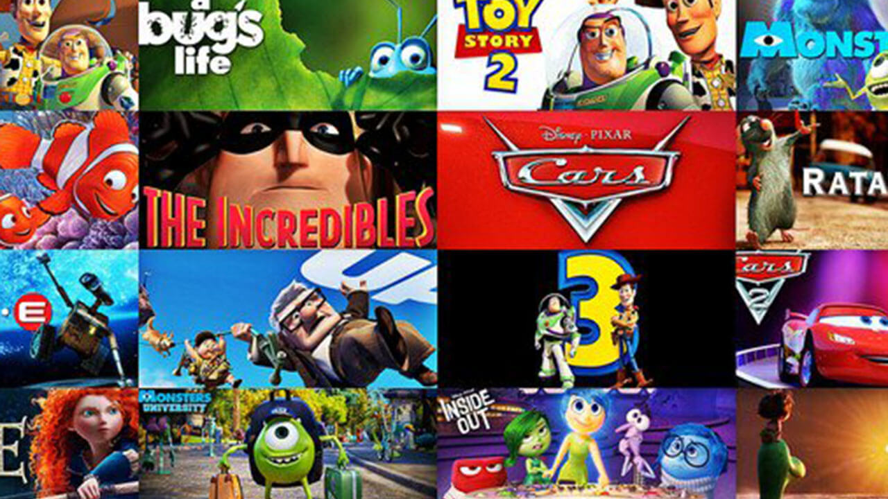 誰才是你心目中的第一名動畫片?迪士尼 VS. 皮克斯 分組競猜在推特上造成大混亂!