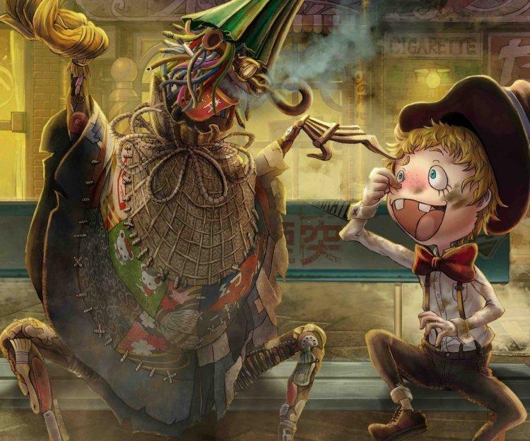 動畫電影《煙囪小鎮的普佩》原作繪本。