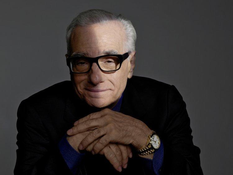 勞力士代言人馬丁史柯西斯 (Martin Scorsese) 與 Oyster Perpetual Day-Date (蠔式恒動星期日曆型)腕錶。