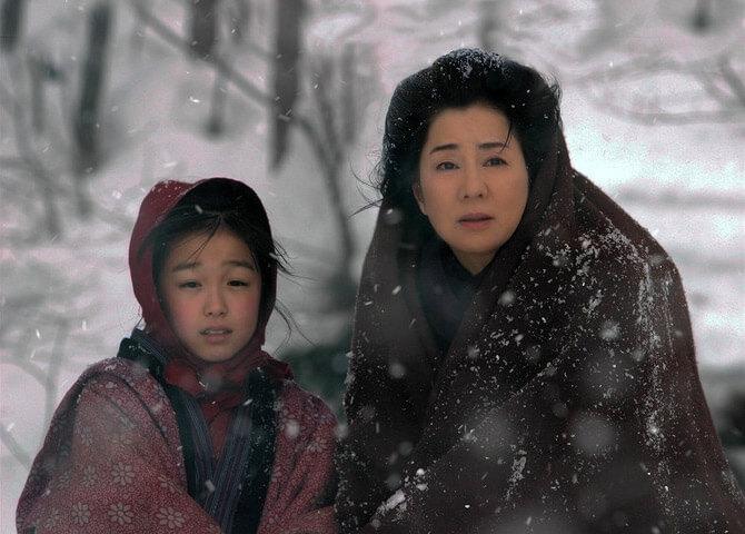電影 《 北之櫻守 :媽媽的守護者》 母愛 的光輝將永遠照耀在孩子心中。