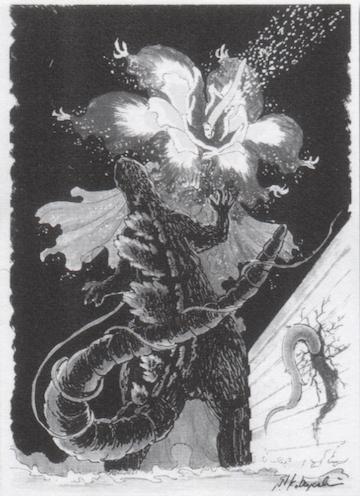 原作者小林晉一郎自繪的碧奧蘭蒂