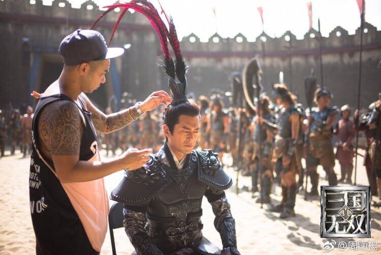 《真・三國無雙》古天樂飾演呂布。