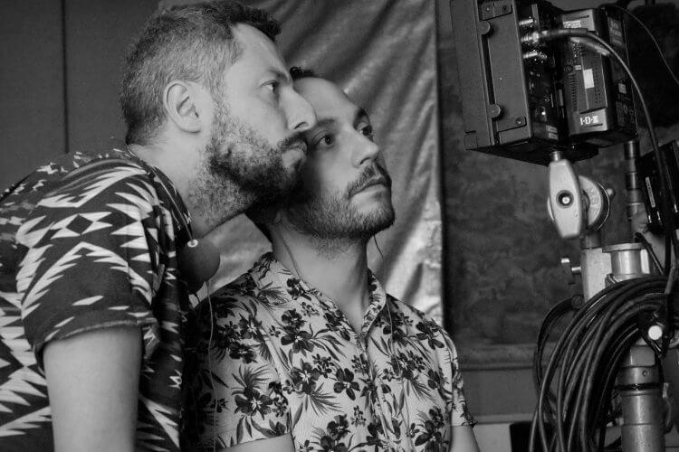 巴西電影《咖啡莊園的亡靈》導演馬可杜特拉、卡塔諾戈塔多。